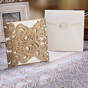 Delicate Laser Cut Wedding Invtitaiton - Set ... – USD $ 65.79