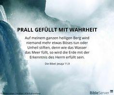 Bibelvers nachzulesen in der Bibel auf #BibleServer | Jesaja 11,9