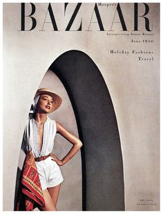 This year, Harper's Bazaar, the oldest continuously published fashion magazine in the world, celebrates its anniversary. Here, take a photo tour of vintage images. Vogue Vintage, Fashion Vintage, Vintage Vogue Covers, Moda Retro, Moda Vintage, Fashion Magazine Cover, Fashion Cover, Harpers Bazaar, Holiday Fashion