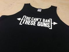 e8984bb9713 Exercise Shirt Tank Tank-top Work Out wear Gym Health Fitness Cant Ban  these guns tank top Gym Shirt Tee Tank Top Shirt Mens Geek Funny