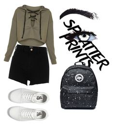 """Sin título #27"" by daniela-reque on Polyvore featuring moda, River Island y Vans"