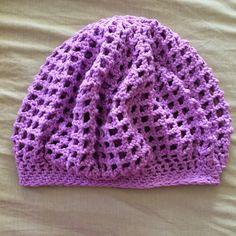 Not My Nana's Crochet!: Crochet Lacy Hair Net Snood #2