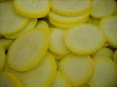 Canning Yellow Squash 2012