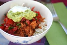 Meal Planning 101: Chipotle Pork Burrito Bowls (Slow Cooker)