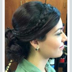 hair updo and makeups by Angelica