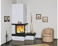 Kaminbausatz Hark Nebraska Bank Rechts Marmor naturweiss/schwarz 8 kW bei HORNBACH kaufen