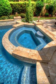 Grecian / Roman Style Pool 1