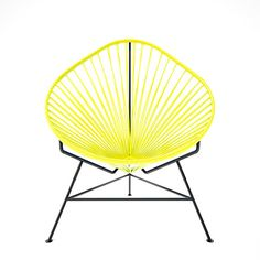 Acapulco chairs lovely yellow!
