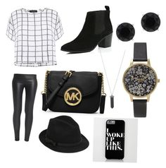 """""""Black and white"""" by courtney-farrow on Polyvore"""