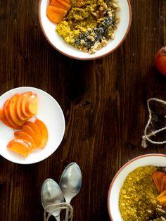 Porridge mit Kurkuma I Nummer Fünfzehn