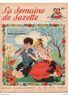 Couv. Claire Marchal, La Semaine De Suzette N°27, 1955