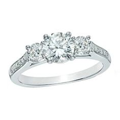 Shop For CT. Certified Diamond Three Stone Engagement Ring in Platinum at Gordon's Jewelers - CT. Certified Diamond Three Stone Engagement Ring in Platinum Cushion Cut Engagement Ring, Platinum Engagement Rings, Three Stone Engagement Rings, Oval Engagement, Country Engagement, Three Stone Rings, Engagement Pictures, Engagement Shoots, Engagement Photography