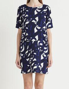 Selected Femme Fahara dress in Peacoat Blue £55