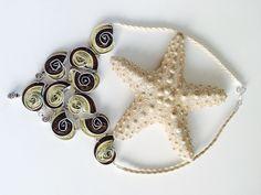 Schneckenhalskette aus Nespresso Kapseln  http://youtu.be/9nkpBQpiO0o