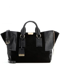 Burberry London - Callaghan Leather and Suede Weekend Tote