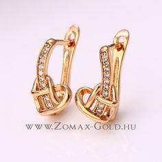 Natasa fülbevaló - Zomax Gold divatékszer www. Gold Rings, Cufflinks, Accessories, Jewelry, Jewlery, Jewerly, Schmuck, Jewels, Jewelery