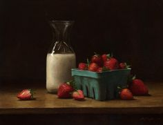 Sarah Lamb at Tree's Place Gallery || Orleans, MA Sarah Lamb, Jacob Collins, Strawberry Art, Still Life Images, Still Life Oil Painting, Food Painting, Southwest Art, Still Life Photography, Photography Ideas