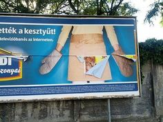 When ads fail, the whole world gets to see. Even when the billboard gets taken down, there's always the internet. Advertising Fails, Bad Advertisements, Advertising Companies, Funny Photos, Cool Photos, Funny Ads, Picture Fails, Messages, Laughing So Hard