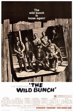 The Wild Bunch 11x17 Movie Poster (1969)