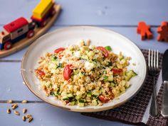 Risotto van parelgerst met pecorino en groenten Recept | HelloFresh