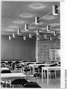 Berlin - 'Haus des Lehrers' restaurant, September 1964