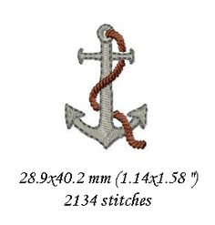 Embellish home decor and personal items with lovely designs inspired by nature Machine Embroidery Patterns, Embroidery Designs, Anchor, Dancing, Letters, Holidays, Stitch, Sewing, Dance