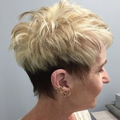 Astounding Tips: Women Hairstyles Medium Half Up funky hairstyles cotton candy.Asymmetrical Hairstyles Red women hairstyles for fine hair over Hairstyles Shoulder Length Over Haircut For Older Women, Funky Hairstyles, Short Hair Cuts For Women, Short Hairstyles For Women, Wedding Hairstyles, Wedge Hairstyles, Brunette Hairstyles, Bouffant Hairstyles, Beehive Hairstyle
