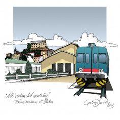All'ombra del Castello - Disegni di Viaggio di Gianluca Di Lonardo