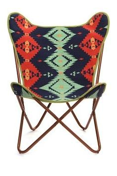 Geometric Americano Butterfly Chair