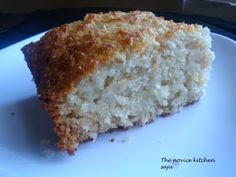 Bsemah (Cocnut semolina cake) Semolina Cake, Recipe Boards, Middle Eastern Recipes, Arabic Food, How Sweet Eats, Sweet Bread, International Recipes, I Love Food, Cupcake Cakes