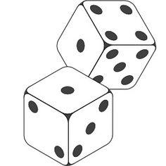 Deux dés à six faces. Source : http://data.abuledu.org/URI/50196e54-deux-des-a-six-faces