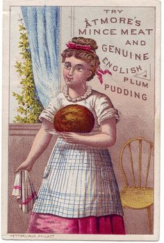 Atmore's Mince Meat and Genuine English Plum Pudding