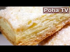 Dough mega puff on the tabs. Better than GOST. Chef Recipes, Cooking Recipes, Cornbread, Cake, Food And Drink, Dishes, Baking, Ethnic Recipes, Youtube