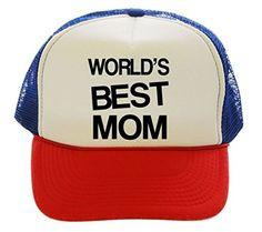 World's Best Mom Trucker Hat Cap