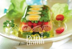 Terrina warzywna Czech Recipes, Ethnic Recipes, Party Food And Drinks, Food Decoration, Appetisers, Food Design, Finger Foods, Food Inspiration, Salad Recipes