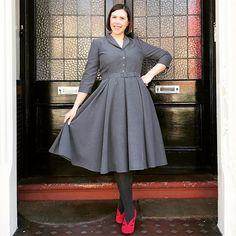 Hannah's Vintage Shirt Dress Retro Dress, New Dress, Bodice, Sewing Patterns, Shirt Dress, Dress Sewing, Vintage, Inspiration, Shopping