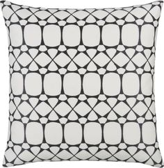 """Second favorite pillow of the day. Aston Grid 18"""" Pillow"""
