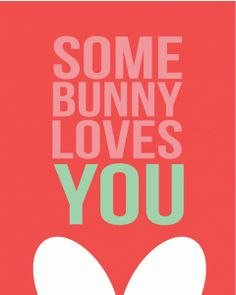 Silhouette Online Store - View Design #57864: some bunny loves you ears print and cut quote card