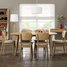 Skandi Oak Dining Furniture Collection