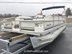 Just add water to this Crest pontoon!