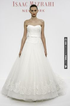 Isaac Mizrahi for Kleinfeld Bridal SS14 | CHECK OUT MORE IDEAS AT WEDDINGPINS.NET | #bridesmaids