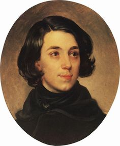 Portrait of an Architect I.A. Monighetti, 1840 Karl Bryullov