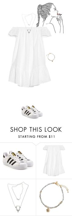 """wanna"" by mel-from-tatooine ❤ liked on Polyvore featuring adidas Originals, Elizabeth and James, NOVICA and Miss Selfridge"