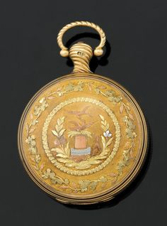 AN IMPORTANT 18CT GOLD POCKET WATCH, BY JAMES MCCABE, 1814, SALVAGED FROM THE WRECK OF THE LOCH ARD