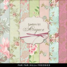Far Far Hill - Free database of digital illustrations and papers: New Freebies Kit of Backgrounds - Avignon                                                                                                                                                                                 More