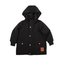 Mini Rodini Pico Jacket In Black   Scandinavian Minimall