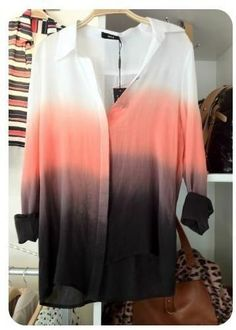 28d0fad3e7c621 Wish they delivered this in the US  ( Ombre Shirt