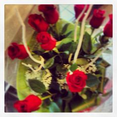 #red #roses