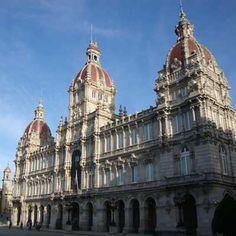 Ciudad Vieja de  Coruña .- viajology