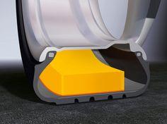 Flüsterreifen: Der Hannoveraner Reifenhersteller Continental bietet für die...